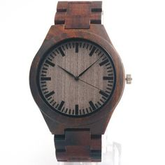 Stylish & Minimal Wooden Watch for Men