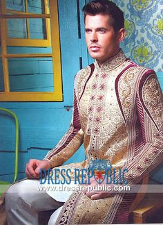 Sherwani for Weddings 2013, 2014 Collection by www.dressrepublic.com