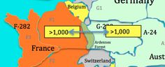 In HistorySimulation.com's  World War One Simulation, the Ardennes forest on the border of Germany and France limits the number of troops that can pass from Germany to France to 1,000 per turn. http://www.historysimulation.com/HomePage.html #WWI #SSchat #USHistory #WorldHistory #HistoryTeacher #history