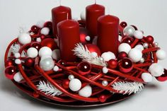 40 Original Advent Wreath Ideas for 2014 Year – christmas crackers Nightmare Before Christmas Wreath, Christmas Advent Wreath, Christmas Swags, Handmade Christmas Decorations, Christmas Mom, Christmas Mantels, Christmas Centerpieces, Modern Christmas, Xmas Decorations