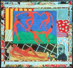 [Matisse's Model] by Faith Ringgold