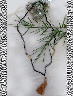 Tribal Necklace, Tassel Necklace, Necklaces, Buddha, Eco Friendly, Zen, Ethnic, Peace, Facebook