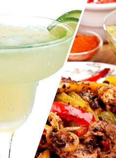 Tequila Sauza®-Rita & HERDEZ® Brand Chipotle Chicken Fajitas. This pin enters me to win a #CelebrateCinco party kit from @Aaa Sss® Tequila and @Adam Timms® Brand!