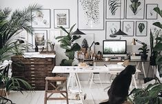 home workspace design inspirations; home office storage ideas for small spaces; home office ideas; Small Workspace, Workspace Design, Office Workspace, Bedroom Workspace, Home Office Space, Home Office Design, Home Office Decor, Home Decor, Modern Office Decor