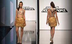 Kelly Dempsey's Season 14 Episode 2 Unconventional Challenge Final Look was great. loved the pieced top!