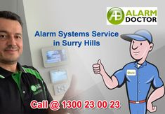 Are you looking for new home alarm system in Surry Hills? Or want to repair your faulty alarm system, Call Alarm Doctor to fix your security system.