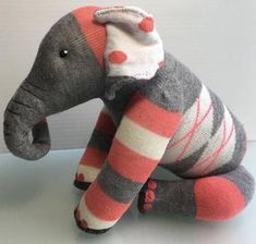 One of a kind sock toys designed by you. Take part in the creative process by requesting a made to order stuffie. I love the challenge! Sewing Toys, Sewing Crafts, Sewing Hacks, Sewing Tutorials, Clay Tutorials, Sock Toys, Sock Crafts, Crochet Amigurumi, Sock Animals