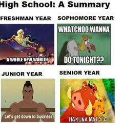 Enjoy the meme 'School: Disney Style' uploaded by jdkleine. Memedroid: the best site to see, rate and share funny memes! Humour Disney, Funny Disney Memes, Disney Quotes, Funny Memes, Funniest Memes, Funny Ads, Hilarious Quotes, Disney Facts, Funny Shit