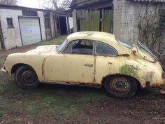 1960 Porsche 356 B Super 90. Very Rare RHD. Barn Find. Ideal Restoration Project | eBay