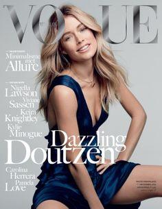 Doutzen Kroes Vogue december 2012