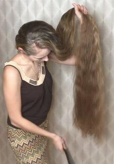 PHONE VIDEO - Super shiny calf length hair play, braid and braided buns Long Hair Ponytail, Bun Hairstyles For Long Hair, Long Hair Play, Braided Buns, Playing With Hair, Hair Buns, Super Long Hair, We Fall In Love, Beautiful Long Hair