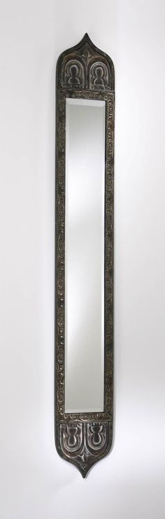 """Skinny Tall Mirror design by Cyan Design - 8""""(w) x 55""""(h) x 0.75""""(ext) - Rustic with Verde Accents Cyan Design makes fabulous home décor items that not only help you create a warm and inviting space,"""