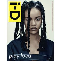 i-D magazine cover shot by: Paolo Roversi