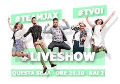 #TeamJAX #CarolaCampagna #MaurizioDiCesare #LeleGante #Tekla #SaraFelline #LiveShow #TVOI