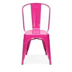 Pink Powder Coated Side Chair | Cult UK