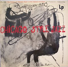 Ben Shahn 1955 Chicago Style Jazz [Columbia CL632] #albumcover