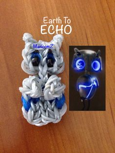 Earth To Echo - Rainbow loom