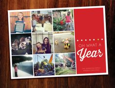 Instagram Christmas cards  - digital file, you print