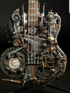 Steampunk Tendencies   Steampunk Guitars byAndy Corporon Check out...