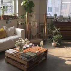 Minimal bohemian living room with natural light - house inspiration - . - Minimal bohemian living room with natural light – house inspiration – - Nordic Living Room, Living Room Decor, Bedroom Decor, Living Rooms, Apartment Living, Living Room White, White Rooms, Studio Apartment, Kitchen Living