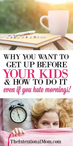 Moms | Mom Time | Morning Routine | Quiet Time | Get Up On Time | Parenting | Kids | Family | Wake Up | Mornings via @www.pinterest.com/JenRoskamp