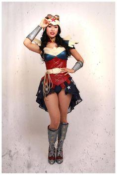 slick-looking-steampunk-wonder-woman-cosplay1