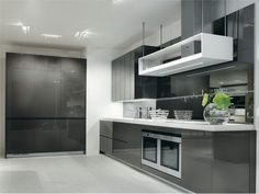Gray white kitchen design longline salvarani  x