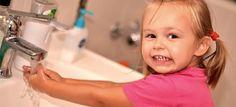 Μαθαίνοντας την υγιεινή στα μικρά παιδιά