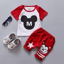 2016 Nuevos Niños Del Verano Conjuntos de ropa del bebé de 1 2 3 4 años de edad los niños ropa set A234(China (Mainland))