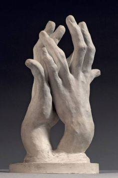 Assembly: two left hands, called hands n ° 2 Domain: sculpture Author (s): Auguste RODIN Tit . Auguste Rodin, Sculpture Tattoo, Hand Sculpture, Plaster Sculpture, Metal Sculptures, Abstract Sculpture, Bronze Sculpture, Sculpture Rodin, Sculpture Ideas