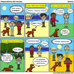 emmamr-elrevellin: Practicar el imperativo con cómics