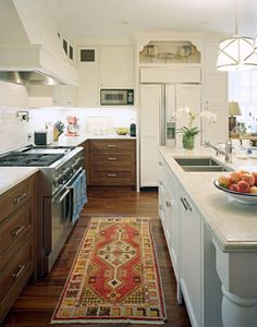 Wood and White Kitch