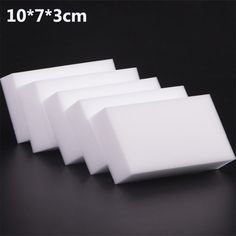 10x7x3 cm 50 cái/lốc chất lượng cao Ma Thuật Sponge Eraser Melamine Cleaner cho Nhà Bếp Văn Phòng Phòng Tắm Làm Sạch