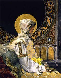 Joaquín Sorolla y Bastida - Praying saint, 1888. Spanish, 1863-1923