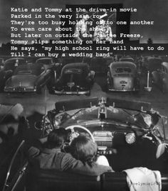 Watching Movies in Pic 1 : Drive In movie, rear view of young couple snuggling behind the wheel of his convertible at a drive-in movie theater. Photo by J. Los Angeles, Pic 2 : Teenage couple hold each other in a movie theater. Black White, Black And White Aesthetic, Old Pictures, Old Photos, Vintage Couple Pictures, Couple Pics, Couple Goals, Kino Movie, Drive In Movie Theater