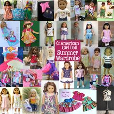 Giveaway: Awesome Summer Wardrobe for American Girl Dolls and their Friends