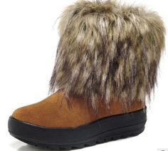 Find More Boots Information about Suede leather shoes casual shoes thick crust fox fur snow boots wool boots,High Quality boots athletic,China boots skinny jeans men Suppliers, Cheap boot white from C&D shoes Shop(Comfortable and Durable shoes store) on Aliexpress.com