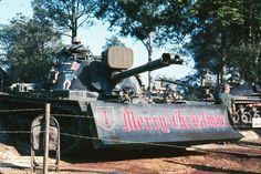 "M48A3 Dozer , 1st Engineer Battalion , 1st Infantry Division ""Big Red One"" Vietnam."