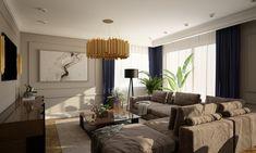 Dom w Libertowie Decor, Living Room, Room, Home, Curtains