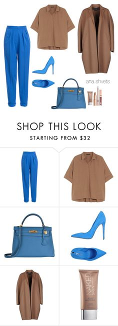 """Untitled #31"" by anashvets on Polyvore featuring мода, Roksanda, Donna Karan, Hermès, Le Silla, Rochas и Urban Decay"