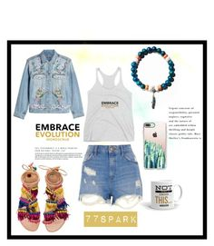 """Embrace Evolution"" by shop77spark ❤ liked on Polyvore featuring Elina Linardaki, Casetify, Alexander McQueen and River Island"
