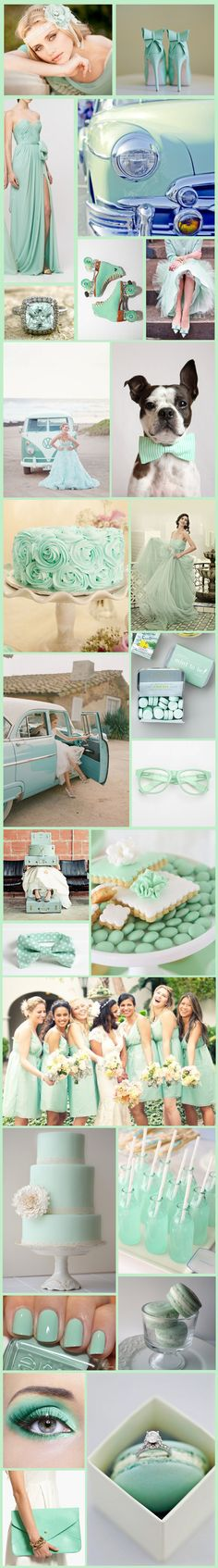 Mint green theme idea