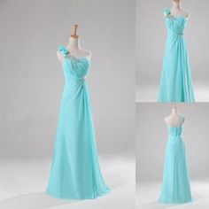 One Shoulder Elegant Long Bridesmaid Dresses 302 A-Line Wedding Dresses | Buy Wholesale On Line Direct from China