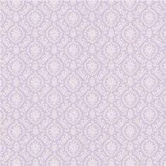 487-68838 Blue Damask - Bella - Brewster Wallpaper