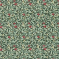 The Original Morris & Co - Arts and crafts, fabrics and wallpaper designs by William Morris & Company | Products | British/UK Fabrics and Wallpapers | Arbutus (DMFPAR201) | Morris Fabric Compilation