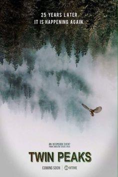 """:: Seriale ONLINE :: Powrót """"Twin Peaks"""" - zobaczcie pierwszy """"plakat"""" nowej serii"""