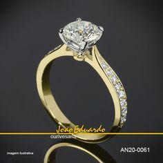 18 melhores imagens de ANEL SOLITÁRIO   Estate engagement ring ... 92d09a2d77