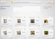 Promotesy is designed to help Etsy sellers spend less time promoting their shops on social media sites and more time creating and managing their shops.