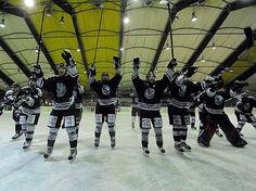 Well this is a 'different' love. My fav icehockey club/team. The 'Löwen Frankfurt'.
