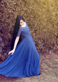 Bluebird attire